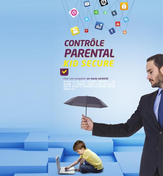 Le contrôle parental « Kid Secure »